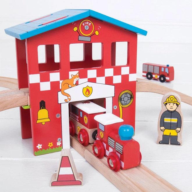 Brandweer treinset