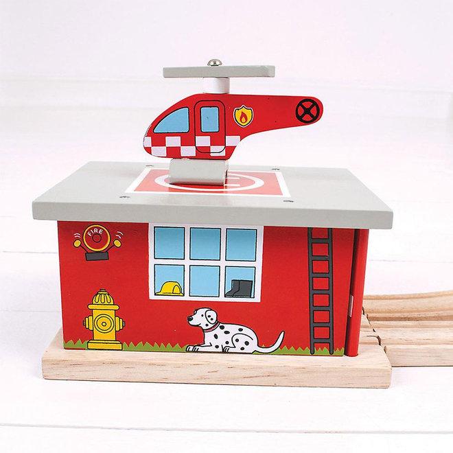 Brandweer remise uitbreiding