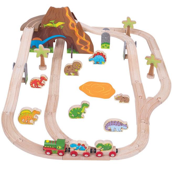 Dinosaurus treinset