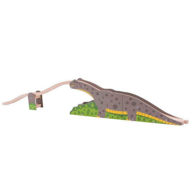 Dinosaurus brug uitbreiding