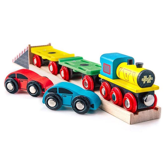 Oplegger trein