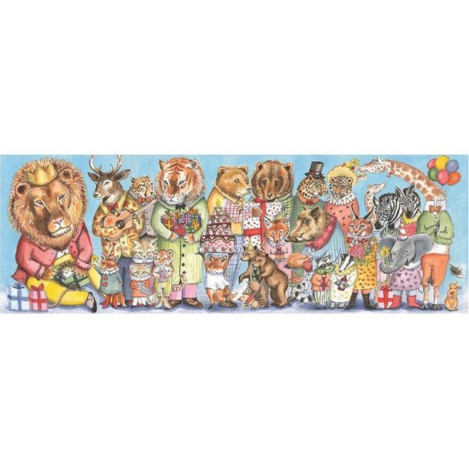 Puzzel 100 stukjes - Koningsfeest 5+