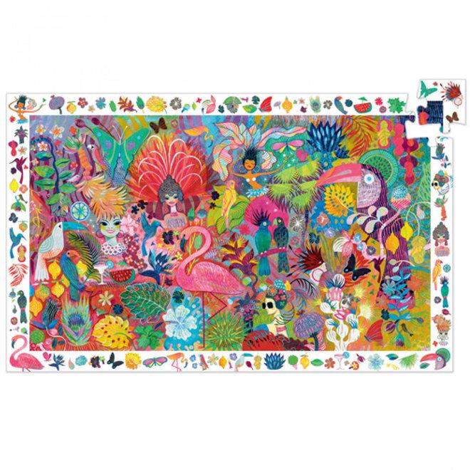 Djeco Puzzel 200 stukjes - Rio Carnaval