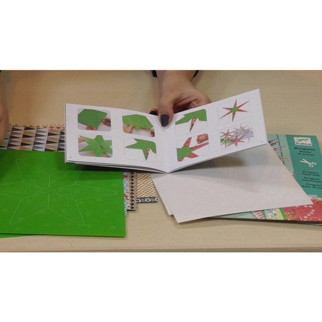 Kirigami papieren ballen (8-14 jaar)