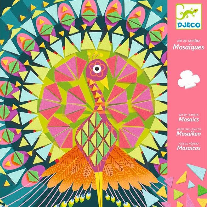 Knutselset mozaïek - Vogels Coco 8+