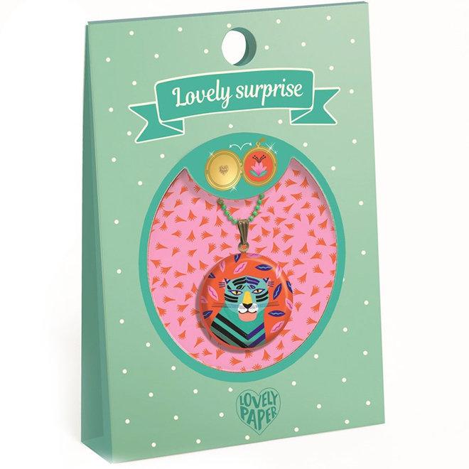 Ketting Lovely Surprise - Tijger