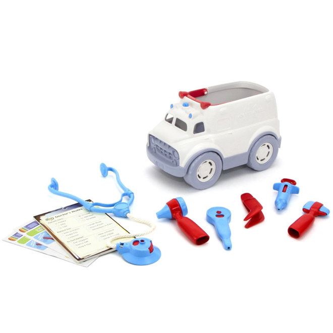 Ambulance met doktersspullen