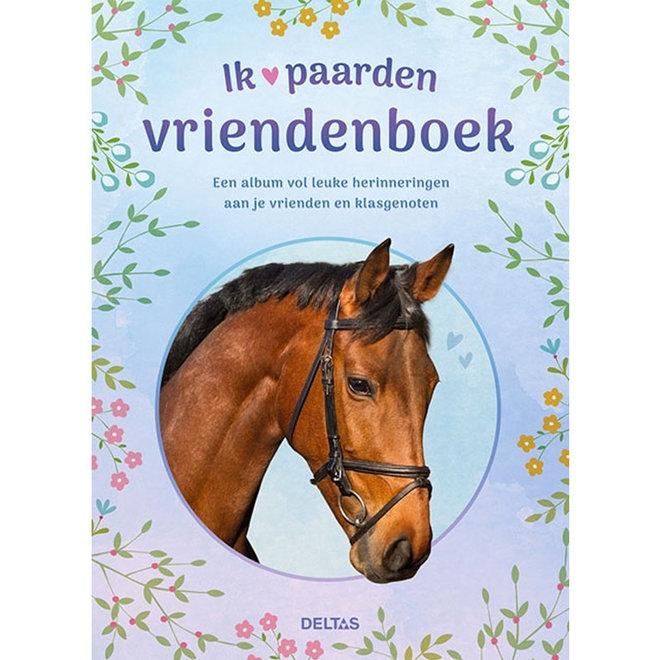 Vriendenboek Ik hou van paarden