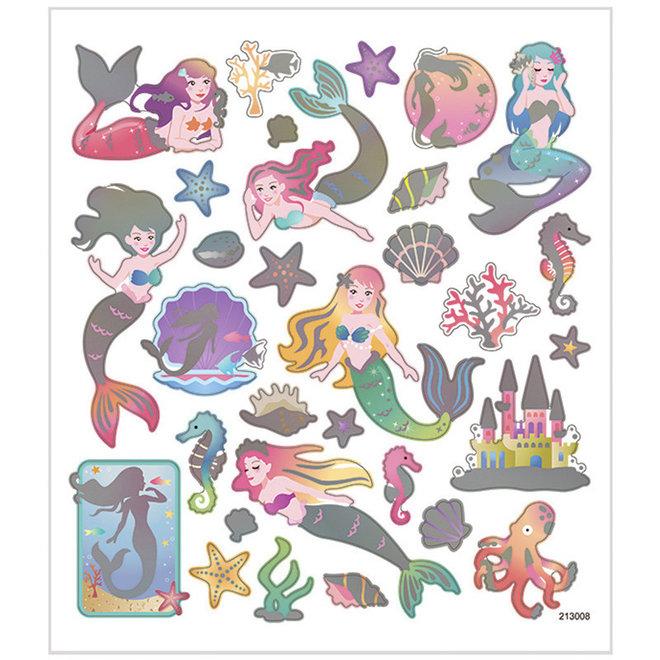 Stickers zeemeerminnen