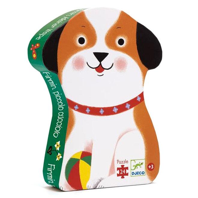 Djeco Puzzel - Firmin, de kleine puppy