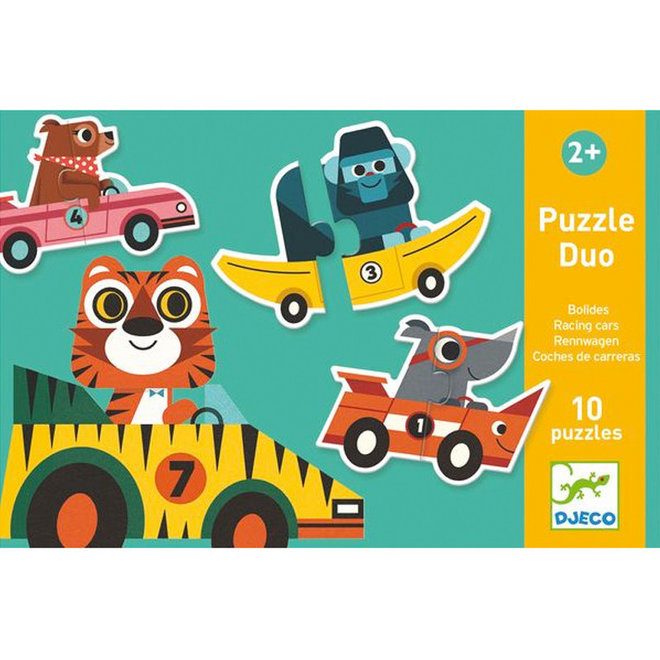 Puzzel duo race 2+