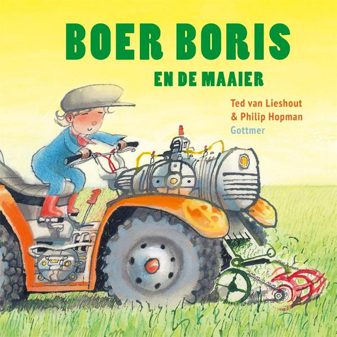 Boer Boris en de maaier
