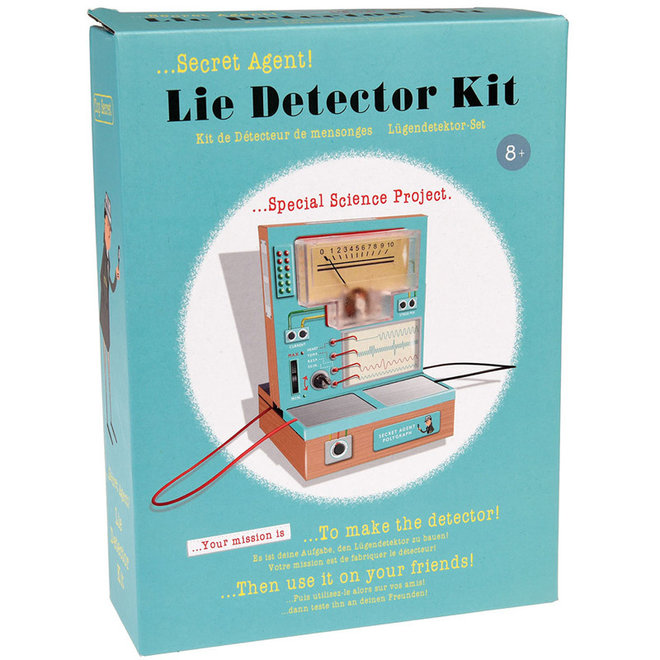 Leugendetector kit