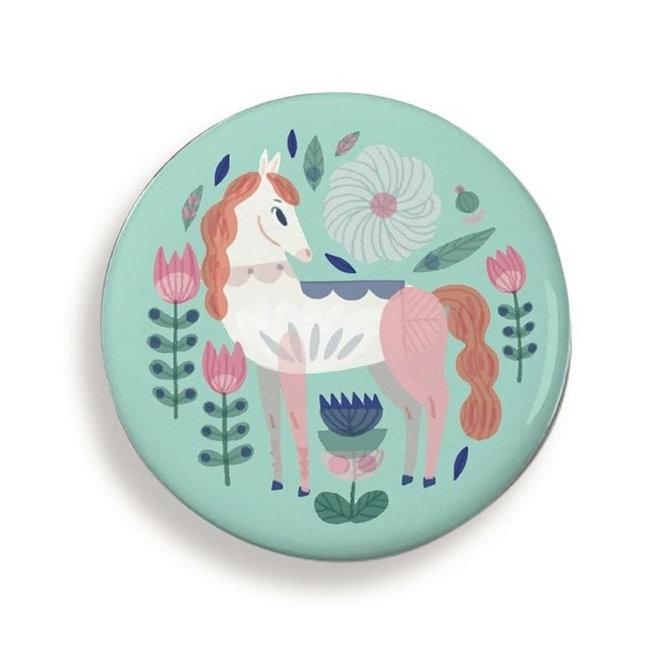 Buttons paarden Lucille