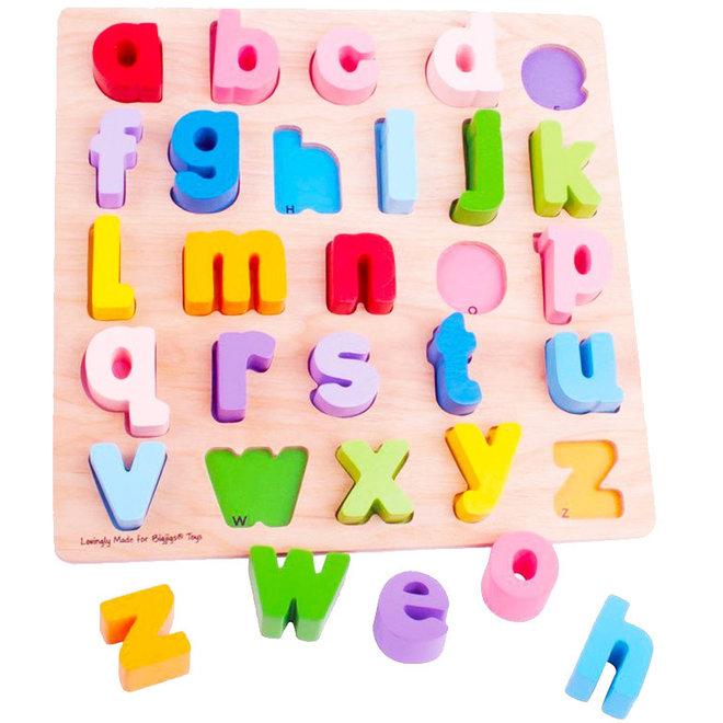 Alfabet puzzel kleine letters