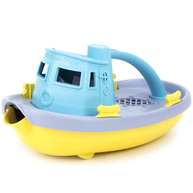Boot blauw pastel