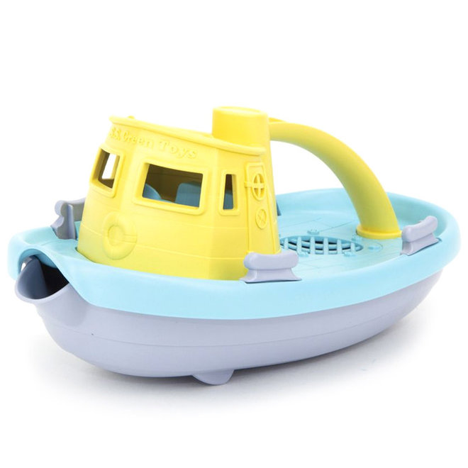 Green Toys Boot geel pastel