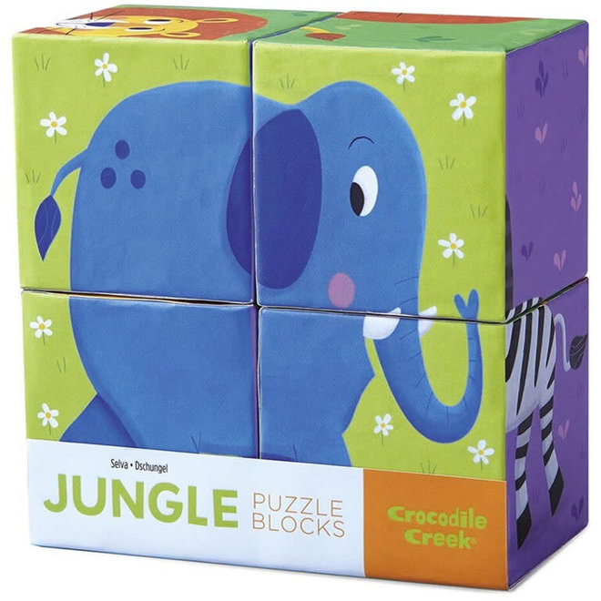 Blokpuzzel jungle