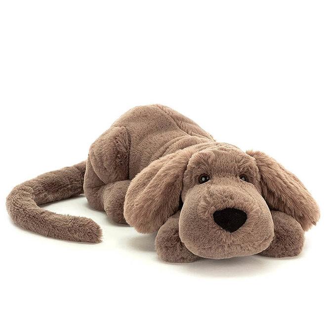 Knuffel bruine hond