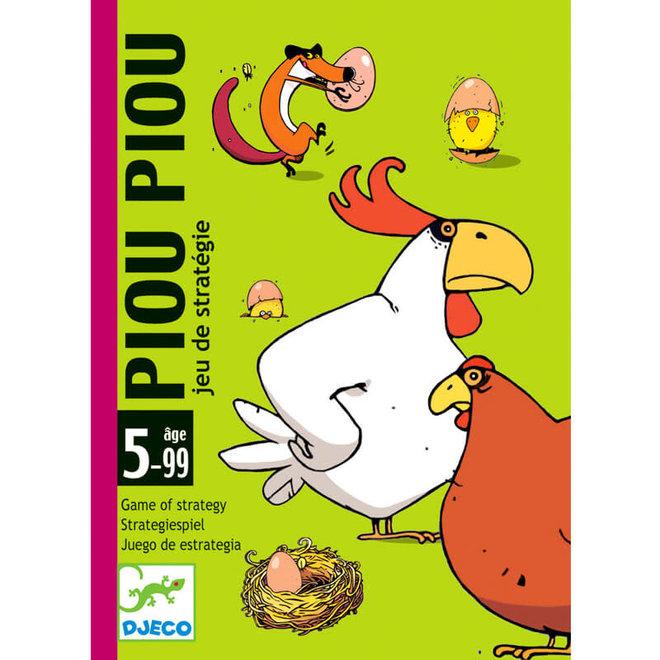 Kaartspel kippen & vos (5-99 jaar)
