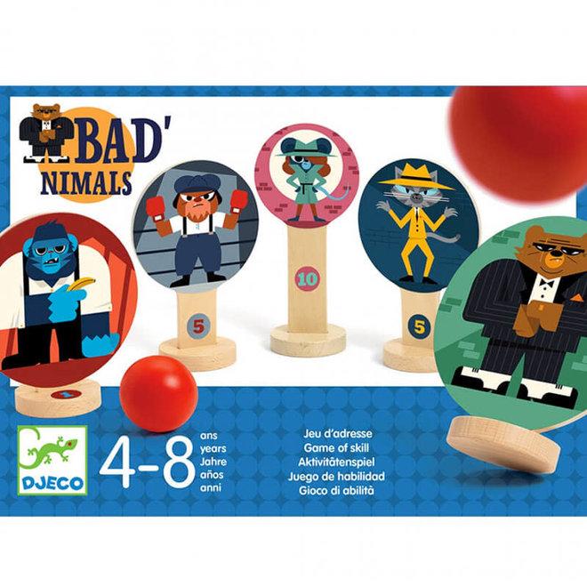 Ballen werpspel Bad'nimals (4-8 jaar)