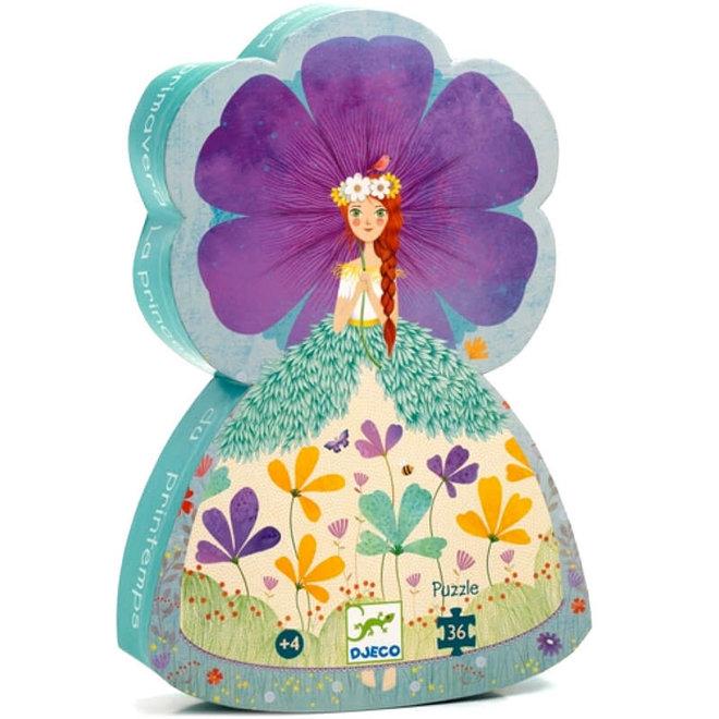 Djeco Puzzel Lente Prinses (36st) 4+