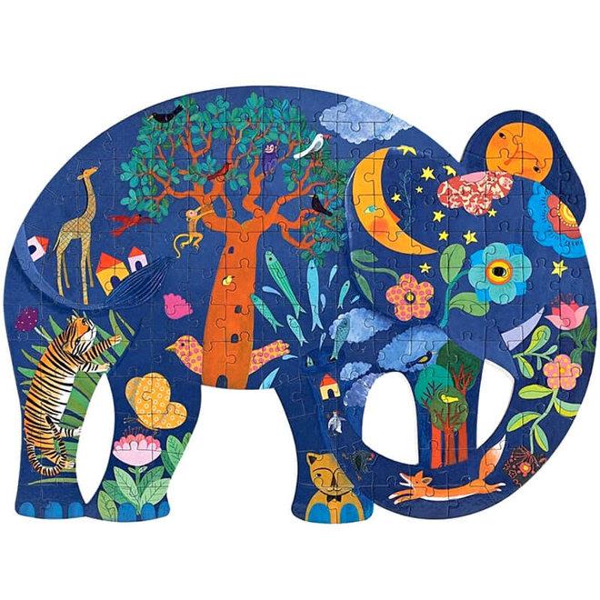 Puzzel olifant (150st) 6+