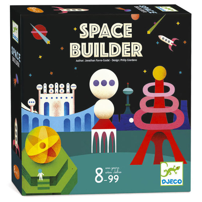Djeco Spel Space Builder