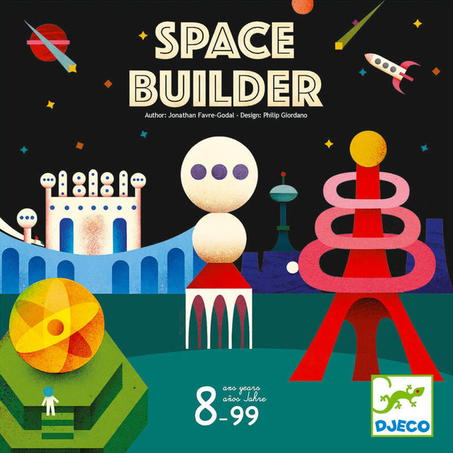 Spel Space Builder 8+