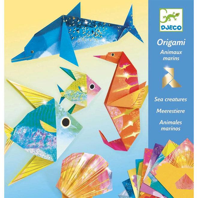Origami zeedieren 7+
