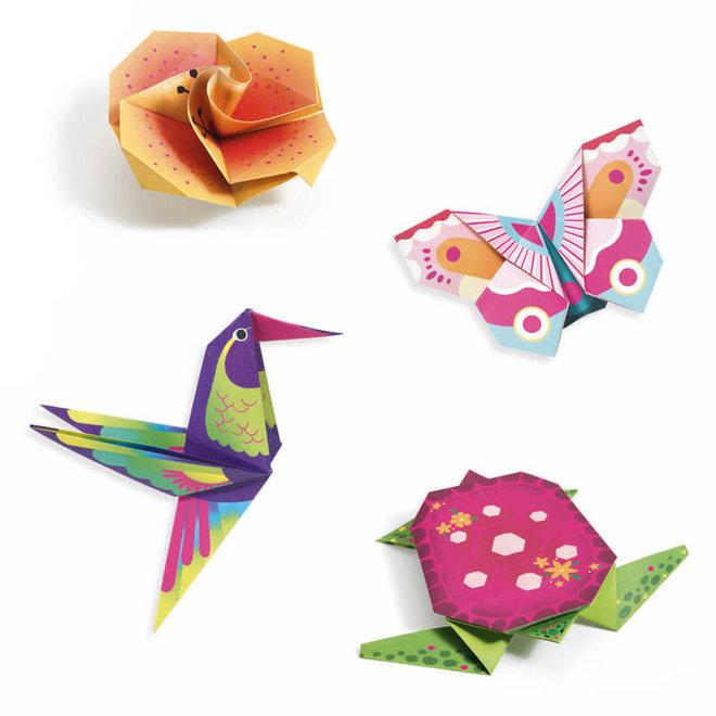 Djeco Origami Tropisch