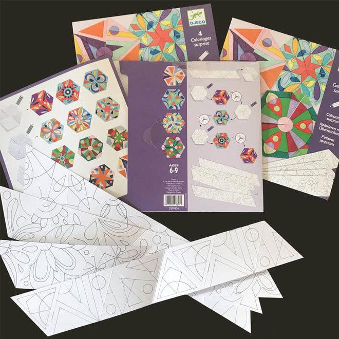 Djeco Mandala Kleurplaten Bloemen 6+