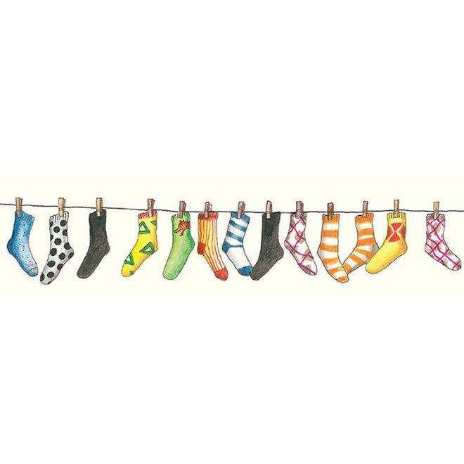 Held op sokken