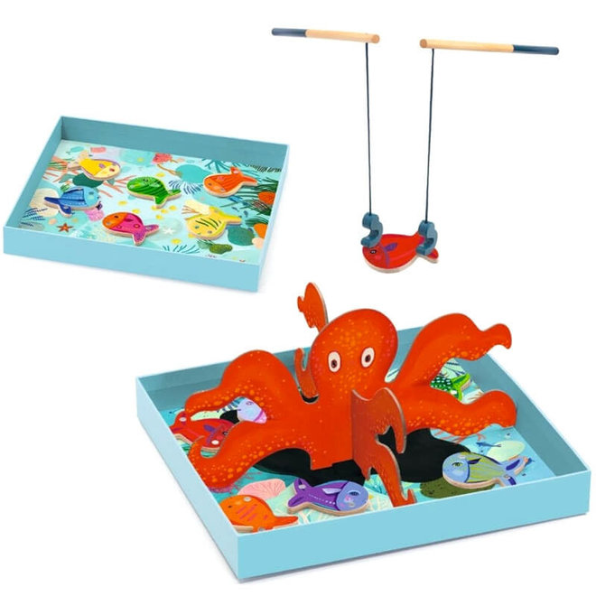 Spel Octopus vissen (3-7 jaar)