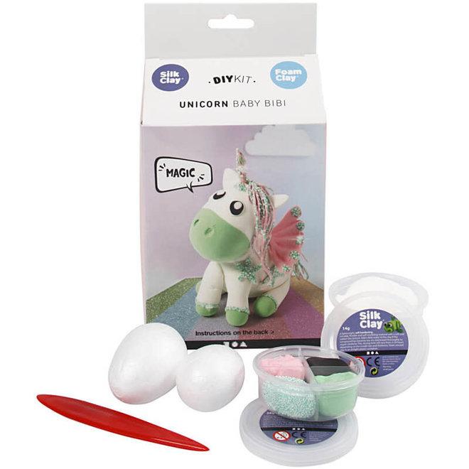 DIY kit - Unicorn Baby Bibi