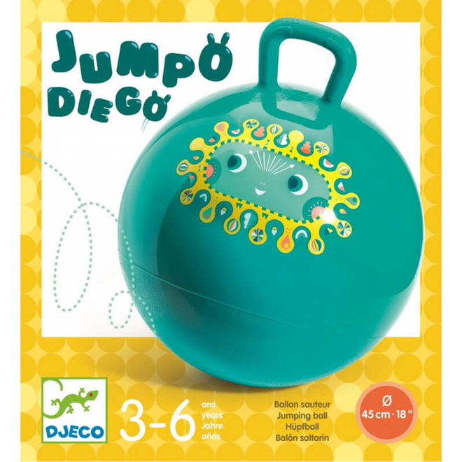 Djeco Skippybal 'Jumpo Diego'