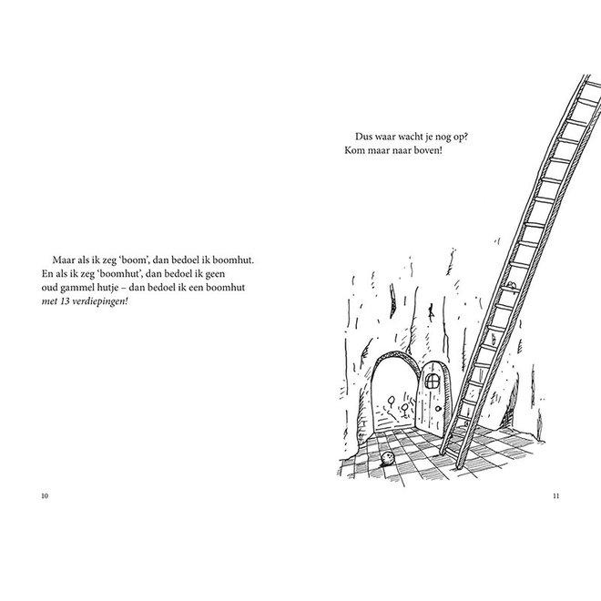 De waanzinnige boomhut van 13 verdiepingen (deel 1) (paperback)