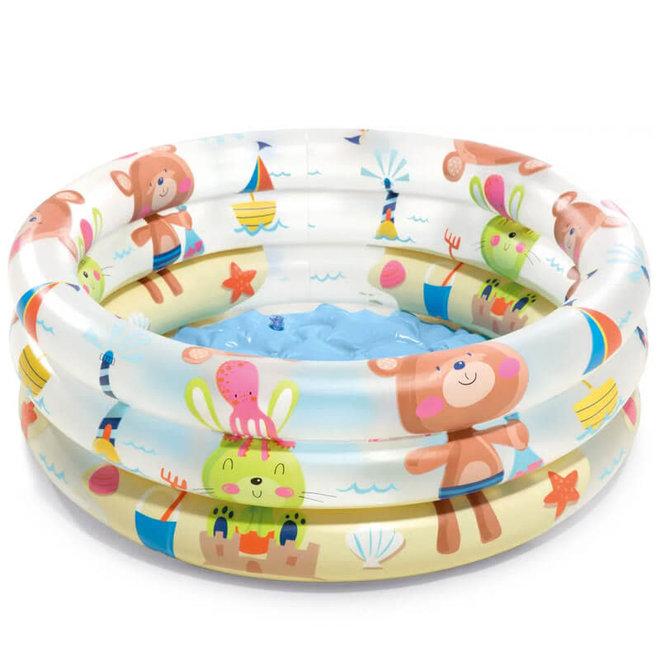 Baby zwembad dieren 61cm (1-3 jaar)