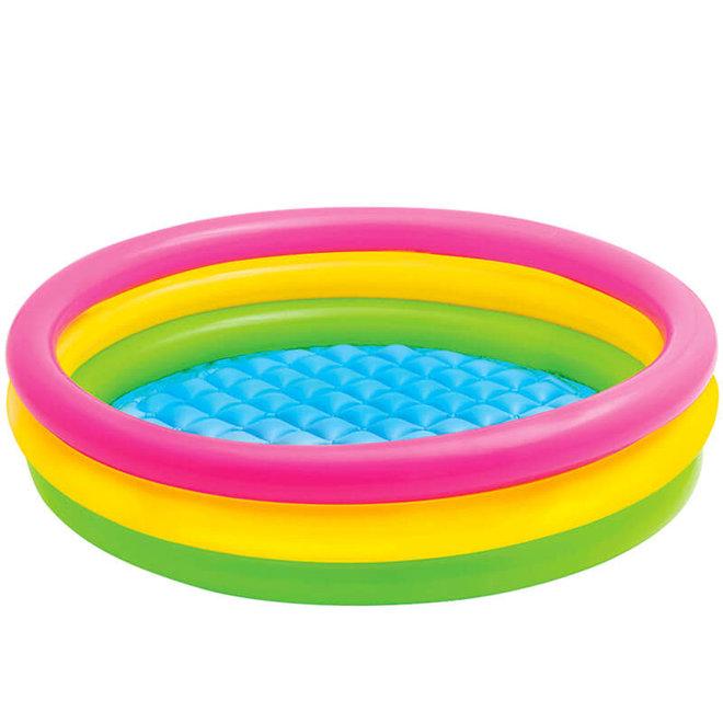 Zwembad regenboog