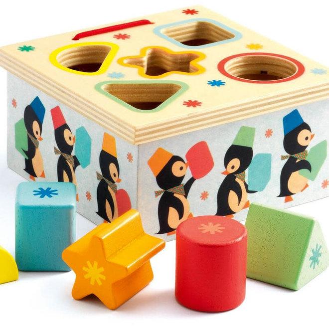 Djeco Vormenstoof Pinguins