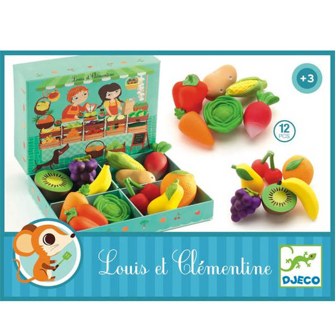 Djeco Groente & Fruit