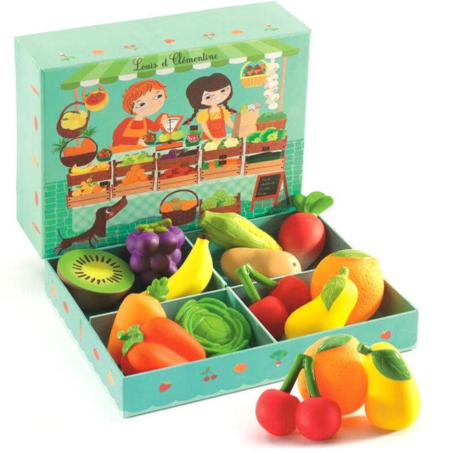 Fruit & groente 'Louis & Clementine'