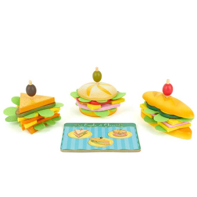 Djeco Sandwich Set