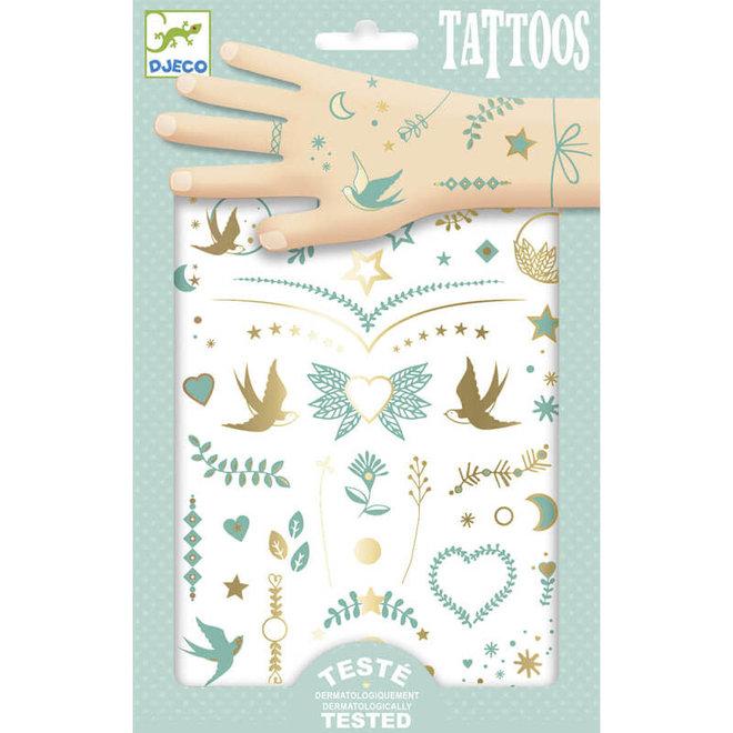 Tattoos Lily's sieraden