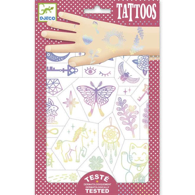 Djeco Tattoos Gelukssymbolen