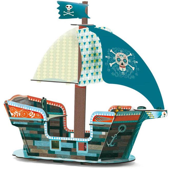 3D Piratenschip