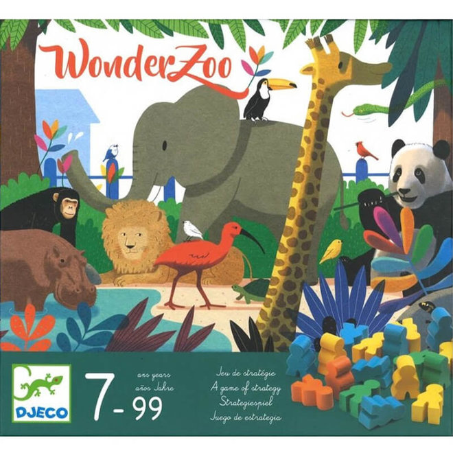 Spel WonderZoo 7+