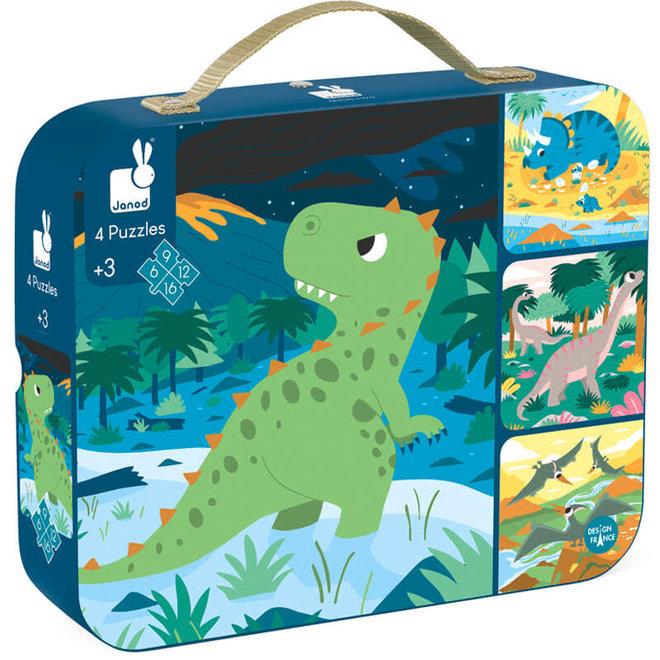 Puzzels - Dinosauriërs (6-9-12-16 st) 3+