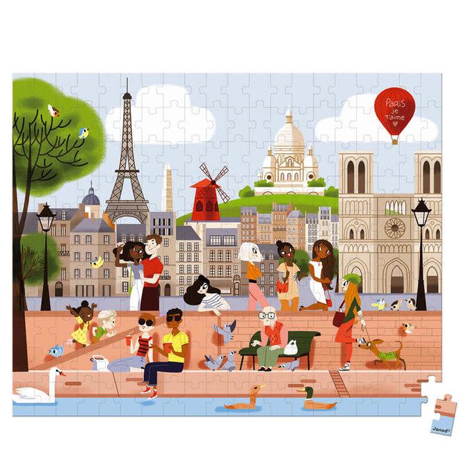Puzzel - Parijs (200st) 7+