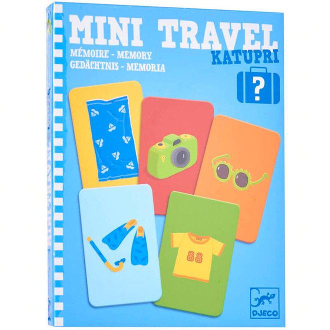 Djeco Reisspelletje 'Wat zit er in mijn koffer?'